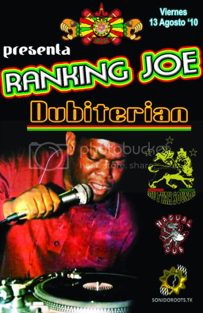 RANKING JOE MEETS DUBITERIAN INNA CULTURAL ROOTS MEXICO